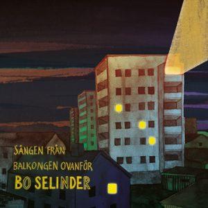 """Omslaget för EP:n """"Sången från balkongen ovanför"""""""